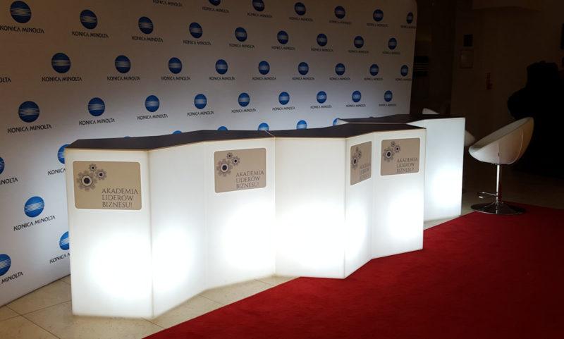 eventowe bary podswietlane recepcje iceberg pedrali wynajem warszawa 800x481