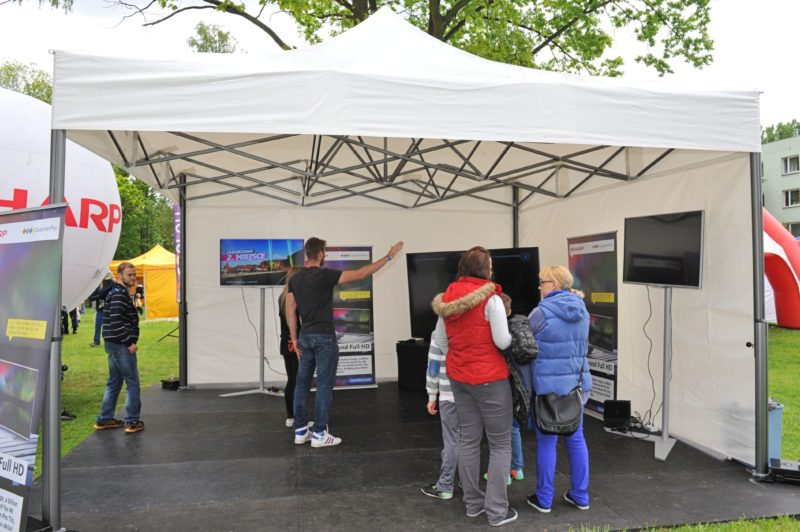 Wynajem namioty wystawowe namiot eventowy V2 2205 800x532