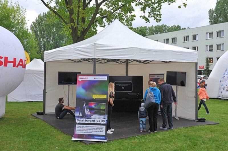 Wynajem namioty wystawowe namiot eventowy V2 2336 800x532