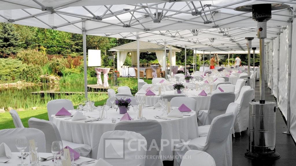 Namioty bankietowe wynajem na imprezy prywatne