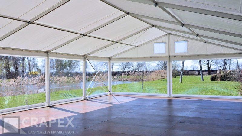 hala namiotowa ze scianami przezroczystymi wynajem 800x450