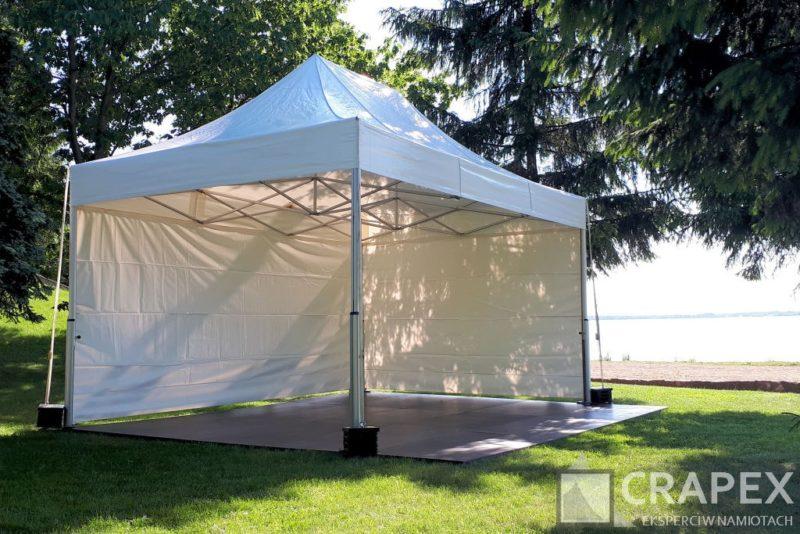 namiot ekspresowy V2 Exclusive z podloga wynajem Crapex 1 800x534