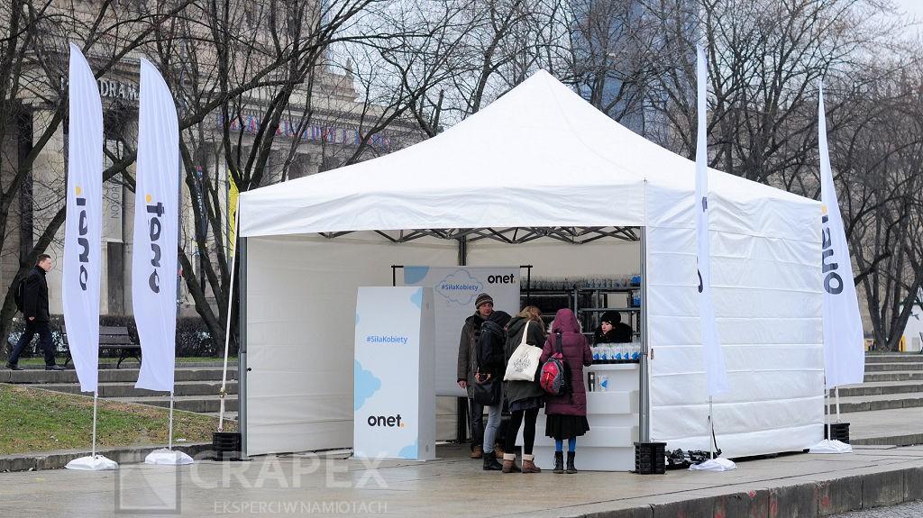 namiot eventowy 5x5m wynajem Warszawa