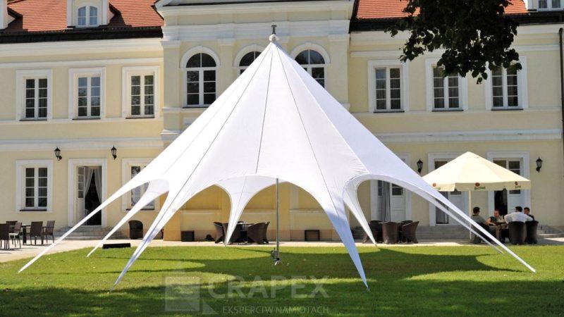 namiot eventowy gwiazda wynajem Warszawa 800x450