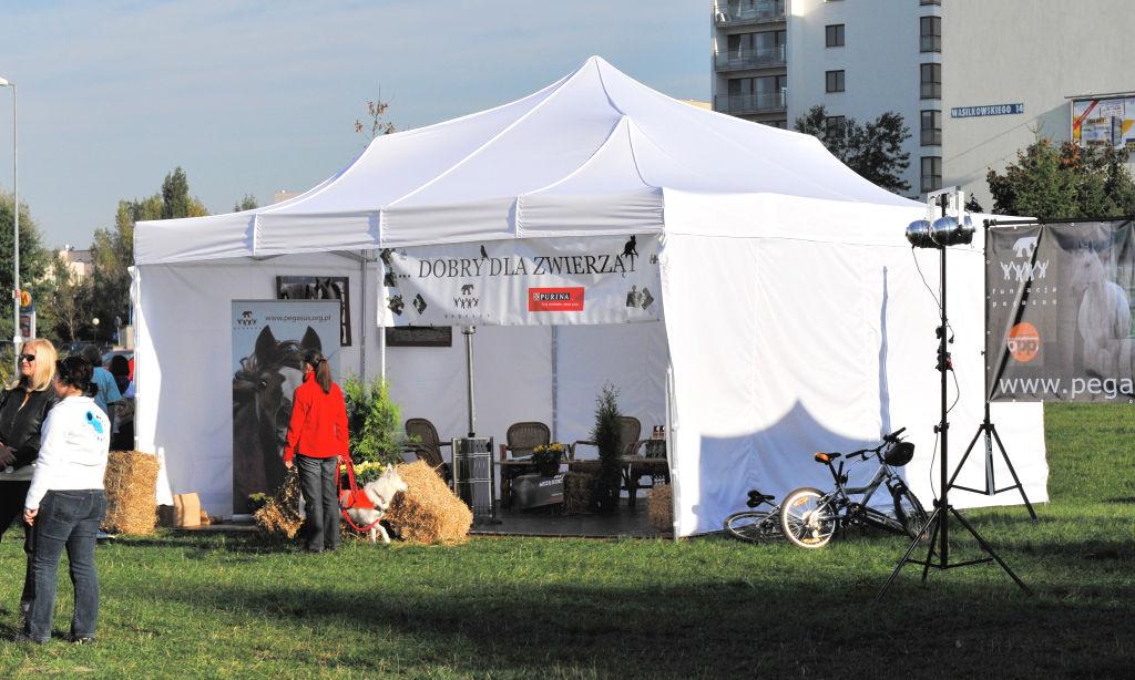 namioty ekspresowe V4 wynajem