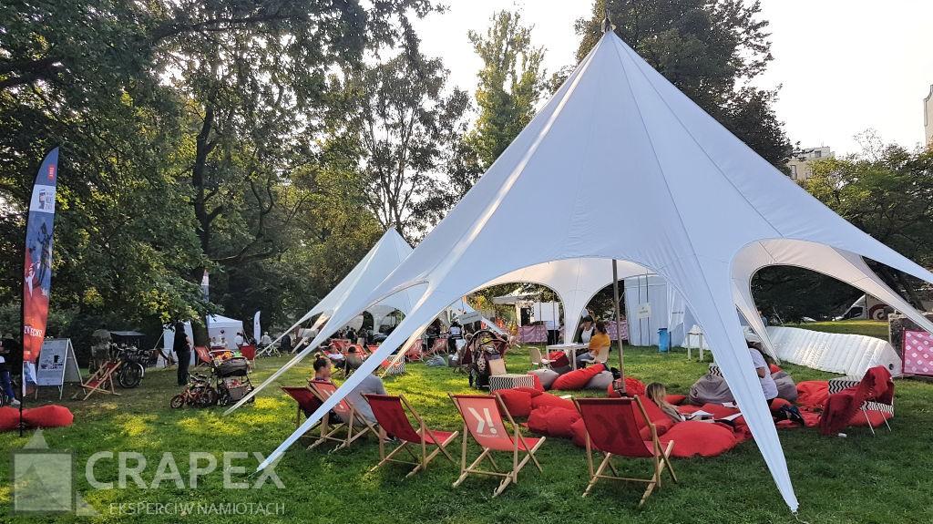namioty eventowe Star wynajem impreza plenerowa