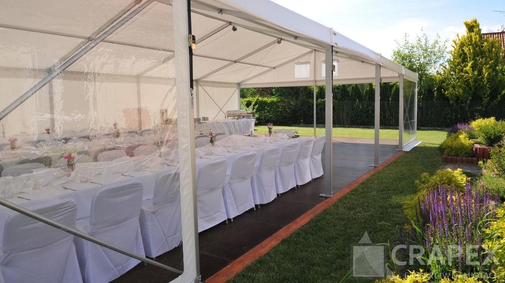 wynajem namiotow halowych na prywatne imprezy plenerowe