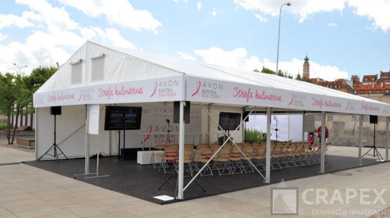 eventowe hale namiotowe wynajem Warszawa 800x448