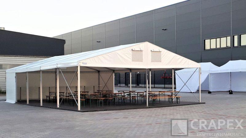 hala namiotowa piknikowa 8x15m wynajem Crapex Warszawa 1 800x450