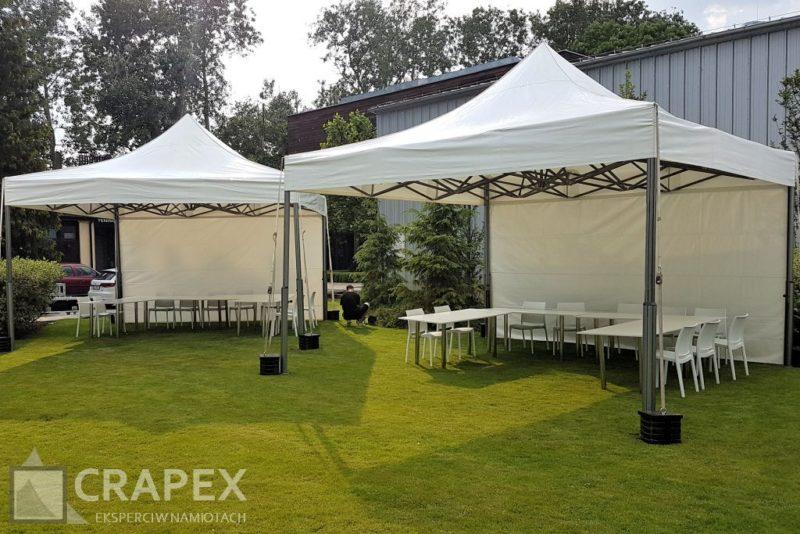 imprezowe namioty ekspresowe V2 5x5m exclusive wynajem Warszawa 800x534