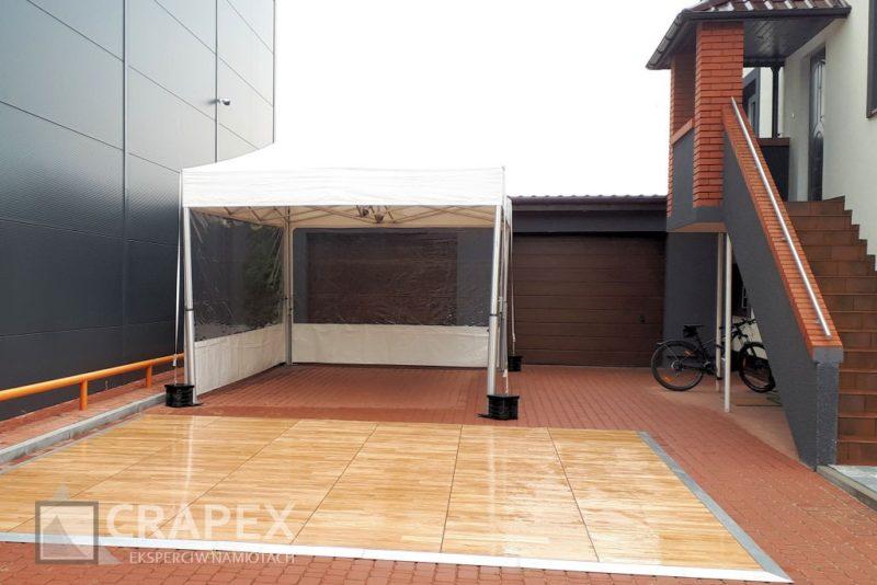 namiot imprezowy V2 exclusive 5x5m parkiet taneczny wynajem Ozarow 800x534