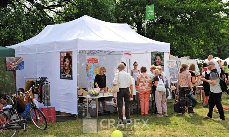 namiot ekspresowy 6x6 wynajem piknik Warszawa 800x480