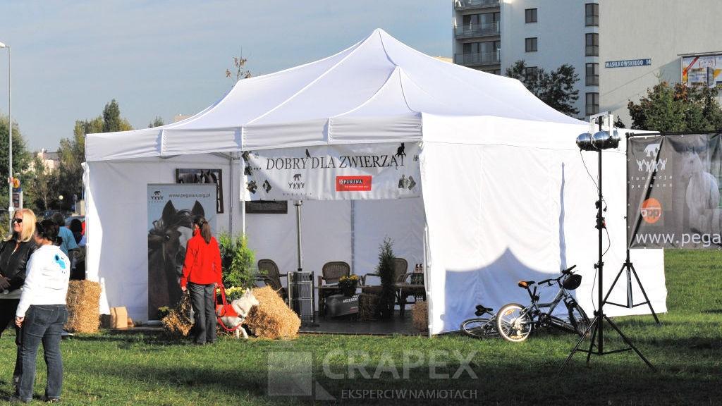 namioty ekspresowe V4 wypozyczalnia