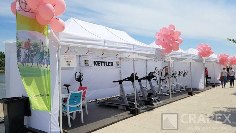 namioty eventowe V3 3x6m na imprezy promocyjne w plenerze 800x450