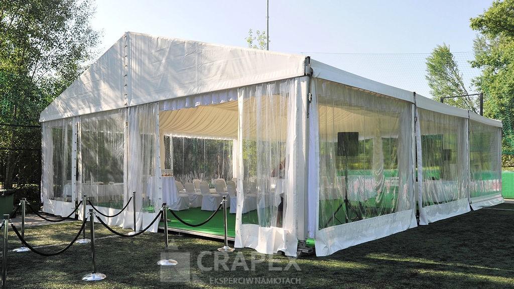 namiot weselny ALFA wynajem Warszawa