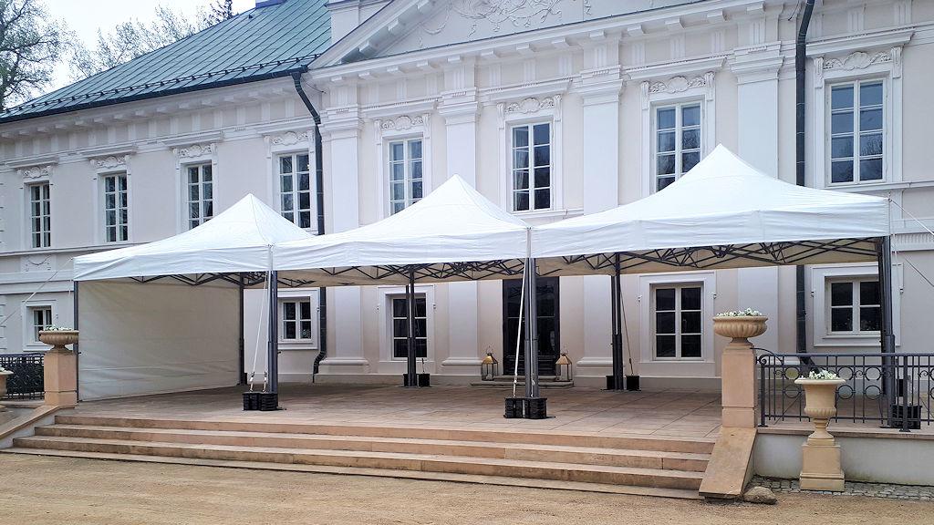 solidne eleganckie namioty eventowe V2 5x5m wynajem namiotow naimprezy